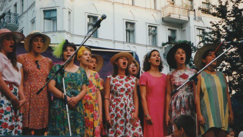 Berlin Kreuzberg Straßenfest 1995
