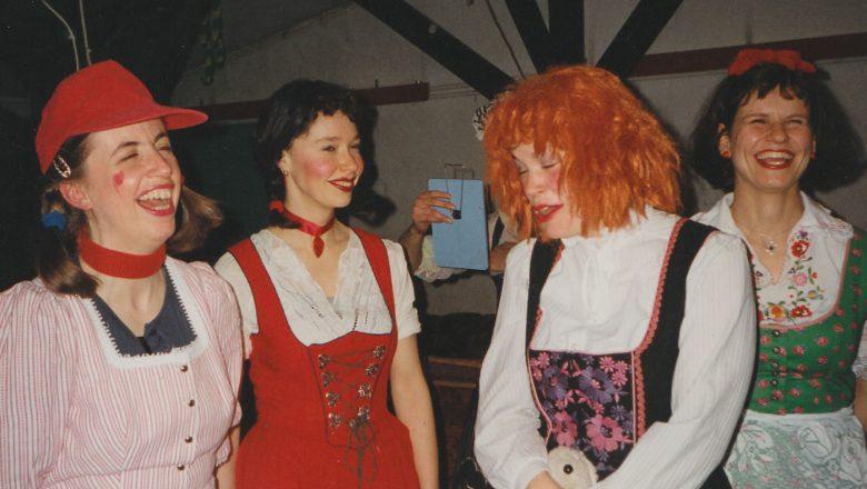 Berlin 1996 gewagte Kostüme